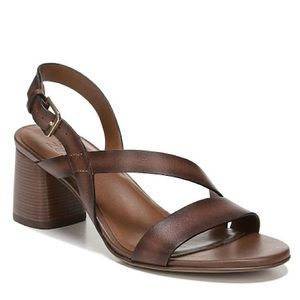 Naturalizer Arianna Brown Strappy Chunky Sandal